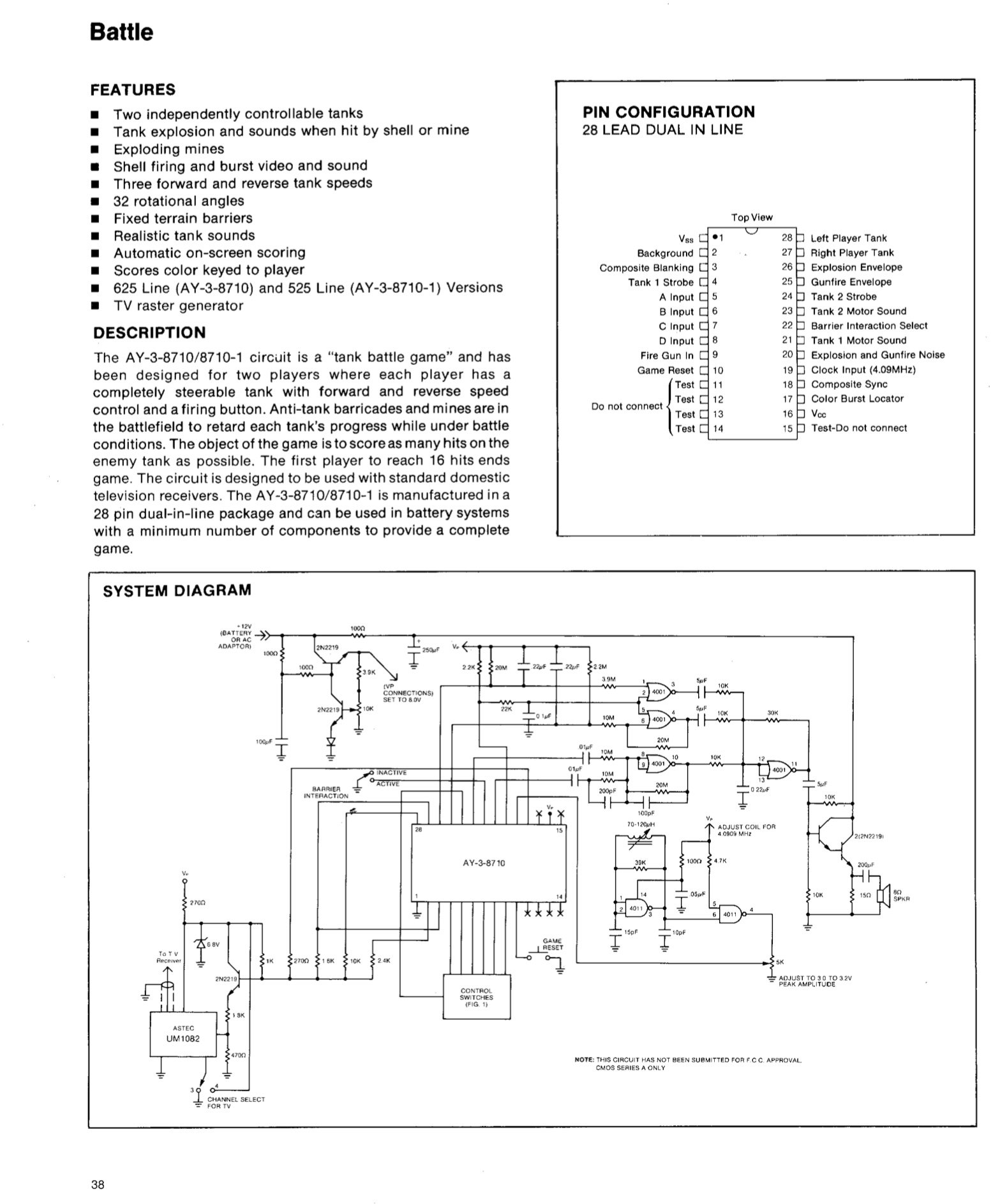 Mod composite sur AY-3-8710 File